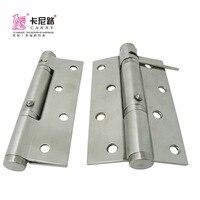 Aço inoxidável 90 Posicionamento Grau Buffer Dobradiça Damping Tampão Porta Portas De Madeira Automático Fechado Dobradiça de Porta Dobradiça Da Porta serie|Distribuidores de toalhas molhadas| |  -