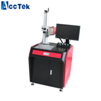 Air cooling UV laser marker with JPT 5W laser source silicon laser engrave marking machine