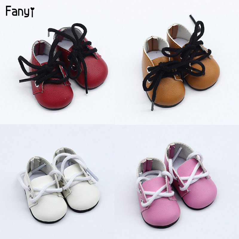 5cm Canvas Shoes For 1/6 BJD Doll Fashion Mini Shoes Doll Shoes For Russian DIY Handmade Doll Doll Accessories Free Shipping
