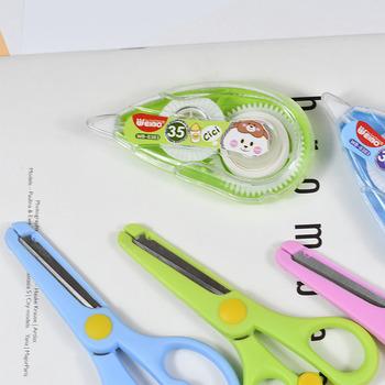 8383White Out craction taśma korektor taśma i nożyczki zaopatrzenie szkolne materiały biurowe szkolne materiały papiernicze akcesoria biurowe tanie i dobre opinie WEIBO WB-8383 Taśmy korekcyjnej