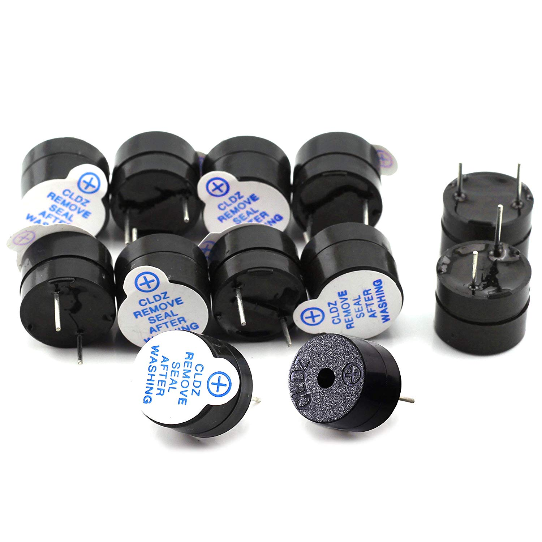 10pcs 5V Active Alarm Buzzer Beeper 9*5.5mm TMB09A05 5 V Mini Active Piezo Buzzer Fit For Arduino Diy Electronic Buzzers 0905