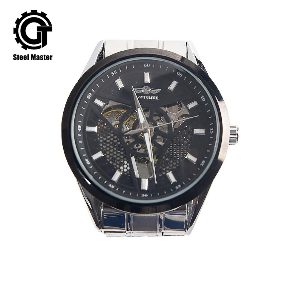 2019 Steampunk Watch Men Silver Metal Women Retro Fashion Prop Chronograph Watches Original Wristwatch of Brassy Movements