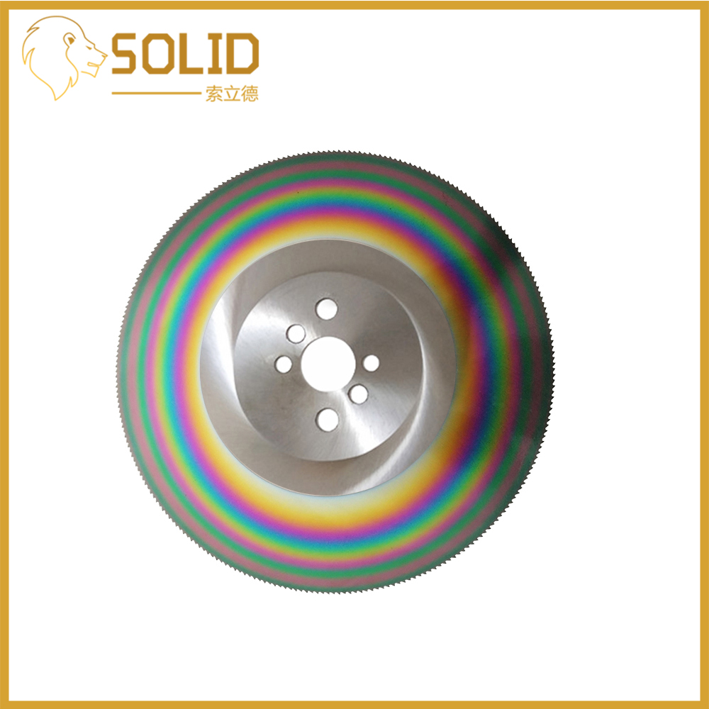 High Speed Steel Circular Saw Blade 275mm Cutting Disc for Stainless Steel HSS Thickness 1.2/1.6/2mm
