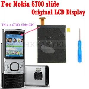 ЖК-экран hkfatel для Nokia 6700 s 6700, ЖК-дисплей с цифровым преобразователем, мобильный телефон