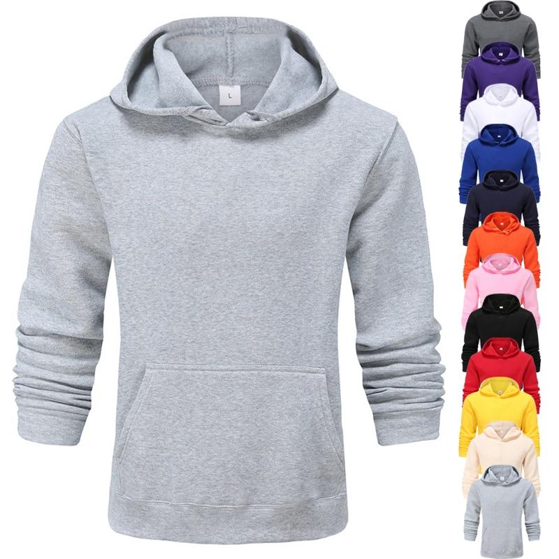 Amicable New Arrival Solid Color Fashion Hoodie Men Clothes Boy Sweatshirt Ropa De Hombre 2021 De Marca Hoodies For Women Streetwear Coat Finely Processed