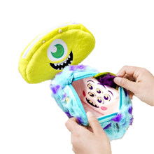 Kawaii Monster Pencil Case Box Bag for Girls Cute Mike Big Pencilcase Stationery School Supplies Makeup Bag Back to School Gift(China)