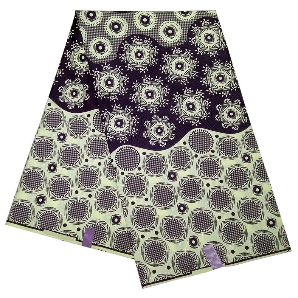 Latest High Quality Ankara African Wax Print Fabric Floral Print Wax Fabric