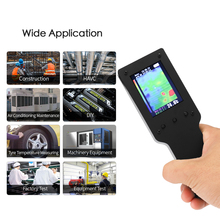 цена на Portable Handheld Infrared Thermal Imager Thermal Imaging Camera 2.4 Inch Digital LCD Display Thermometer Measurement Instrument