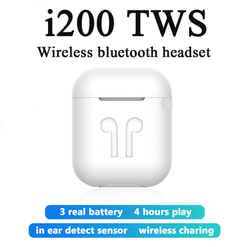 2020 new i200 TWS wireless Bluetooth headset for Apple Android Xiaomi Samsung Huawei PK i18 i30X i60 i500 i100 i9000 PRO