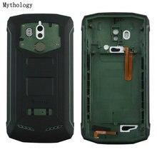신화 원래 Blackview BV5800 배터리 백 커버 마이크 BV5800 프로 IP68 휴대 전화 수리 부품 백 하우징
