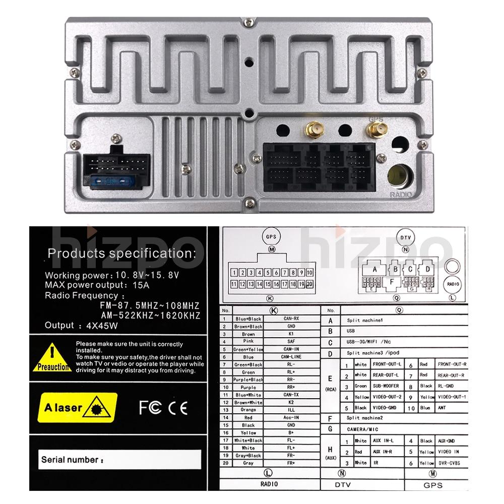 Mejor Android9.0 4G 2GRAM 16GROM WIFI unidad principal estéreo de coche radio reproductor GPS para coche HD BT sistema multimedia para Audi TT MK2 (2006 2014 - 6