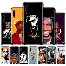Silicone Phone Case For Samsung Galaxy A10 A10e A20 A20e A30 A40 A50 A51 A60 A70 A71 A01 A91 Back Cover 2pac Tupac cover for samsung galaxy a10 a20 a30 a40 a50 a60 a70 2019 silicone shockproof phone case luxury armor back cover ring stand case