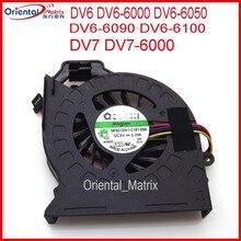 Frete grátis nova marca MF60120V1-C181-S9A AD6505HX-EEB para hp pavilion dv6 DV6-6000 DV6-6050 DV6-6090 DV6-6100 cpu cooler fan
