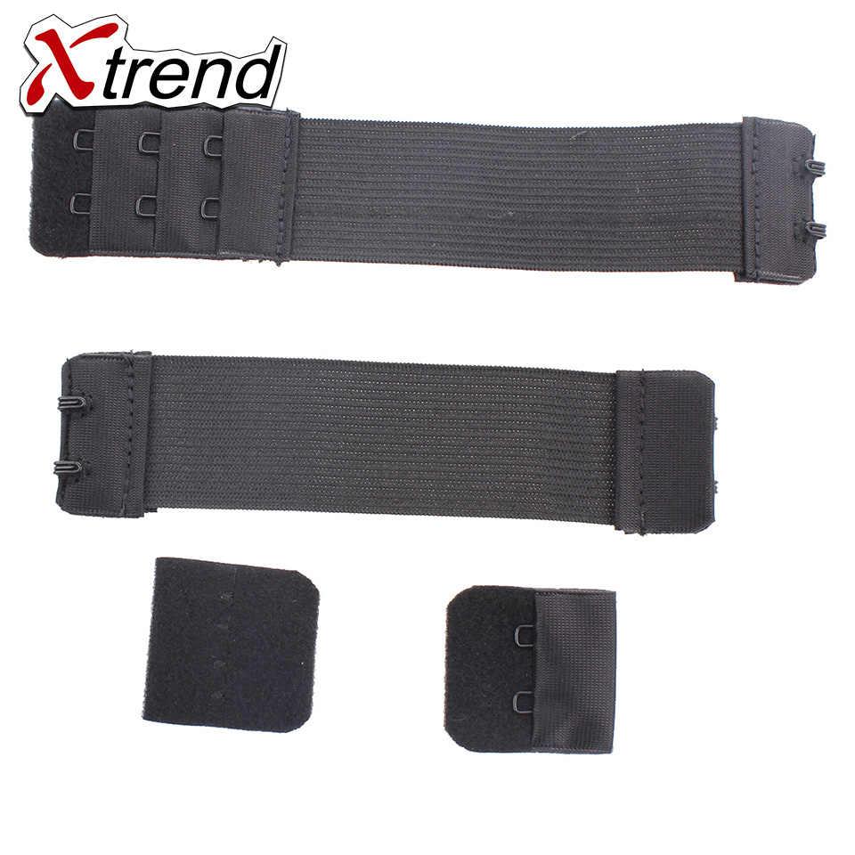 Xtrend Verstelbare Elastische Band Voor Pruiken Maken Pruik 1 Pcs-5 Pcs Accessoires Groothandel Zwarte Kleur