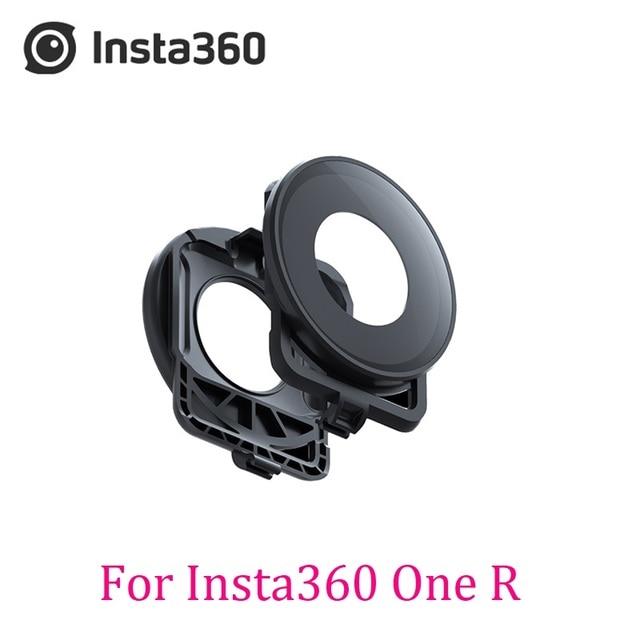 Protetor de lente original/acessório para insta360 um r dupla lente 360 mod tampa de vidro em estoque