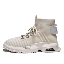 Exclusive new Summer Women Brand Running Shoes Youth Trend Sock Sneakers Light High Top Trainers Outdoor Jogging  Athletic