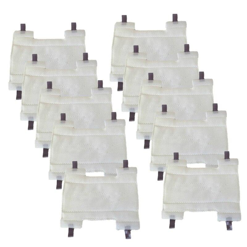Ev Aletleri'ten Buharlı Temizleyici Parçaları'de 10 adet NV751/NV750W/NV752/HV320/HV320W/HV300 yedek buhar için elektrikli süpürge parçaları shark serisi en kaliteli kalınlaşmak paspas pedleri title=