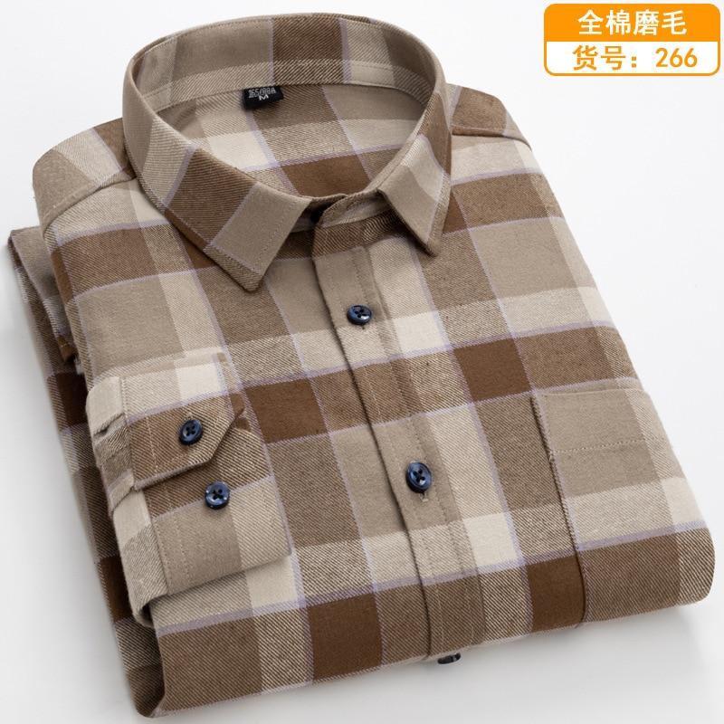 Flannel Plaid Design Shirts