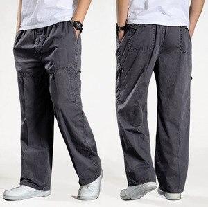 Image 2 - Men Harem tactical Pants 2020 Sagging cotton pants men Trousers plus size sporting Pant Mens Joggers Casual pants 6XL
