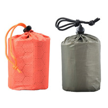 Emergency Sleeping Bag Emergency First Aid Sleeping Bag PE Aluminum Film Tent For Outdoor Camping Hiking Sun Protection *