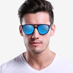 Image 4 - Óculos de sol polarizado tipo steampunk, óculos de sol da moda, polarizado, gótico, retrô, para homens e mulheres