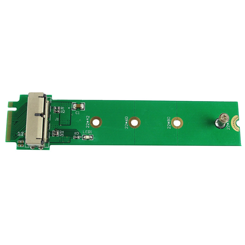 Adapter Card To M.2 Ngff X4 For Apple Macbook Air A1465 A1466 2013 2014 2015 Ssd