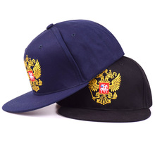 High Quality Russia Emblem Embroidered Hat Classic Fashion Patriot Baseball Cap Men