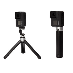 Image 5 - 4 في 1 مجموعة غطاء بطارية معدنية قابلة للشحن الجانب غطاء سيليكون غطاء lens الحبل ل Gopro بطل 8 عمل كاميرا الملحقات