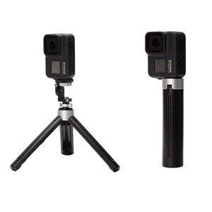 Image 5 - 4 in 1 Set Metall Batterie Abdeckung Nachladbare Seite Abdeckung Silikon Fall objektiv Kappe Lanyard Für Gopro Hero 8 Action kamera Zubehör
