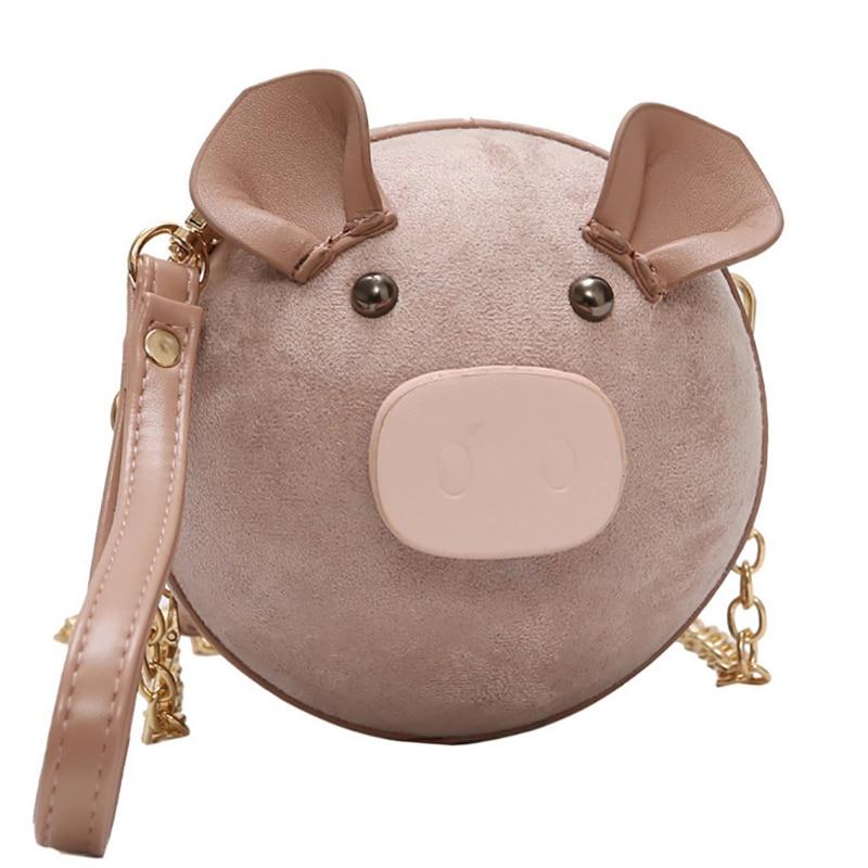 Cute Pig Shape Bags for Women 2019 Bags Women Handbag Bolsa Feminina Shoulder Messenger Bag Luxury Handbags Women Bag Designer