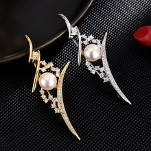 Crystal cc brooch High-end brooches for women enamel pin Fashion Jewelry Pearl hijab pins Dress coat Accessories gifts for women brooches for women hijab pins fashion jewelry cc brooch gifts for women high end wedding brooch dress accessories enamel pins