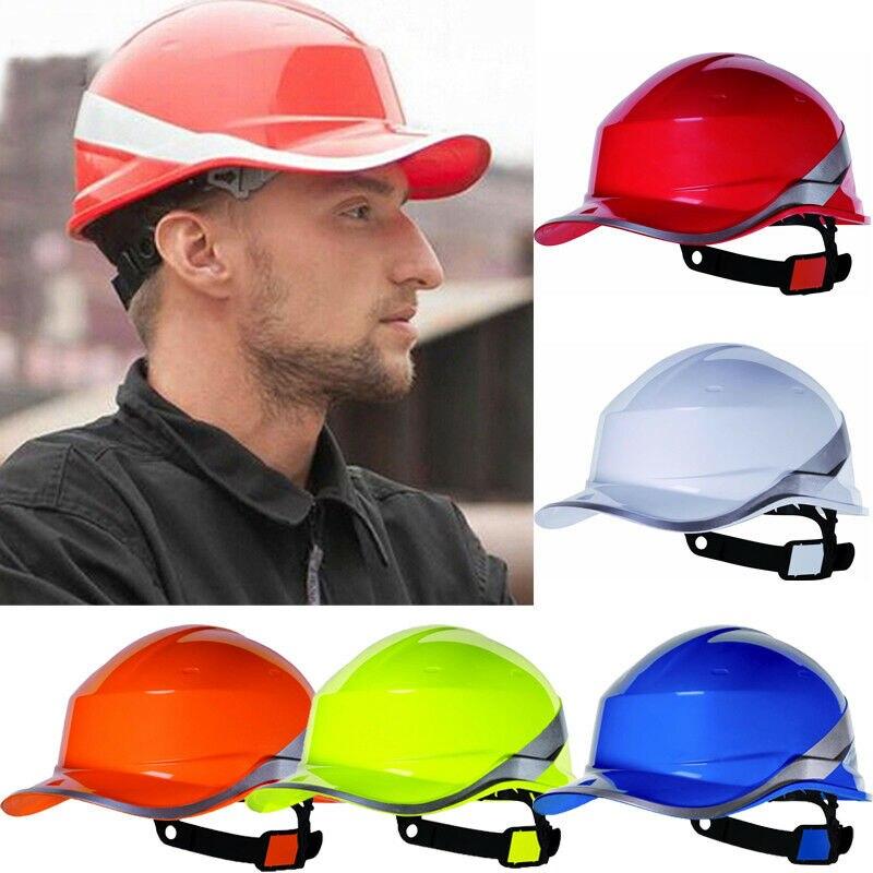 Casco de seguridad para construcción, equipo de trabajo de seguridad, casco ajustable
