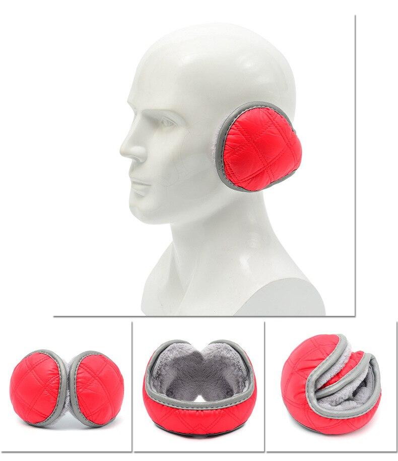 Soft Earmuffs Women Men Ear Cover Protector Plush Winter Men Warm Solid Earmuff Warmer Apparel Accessories
