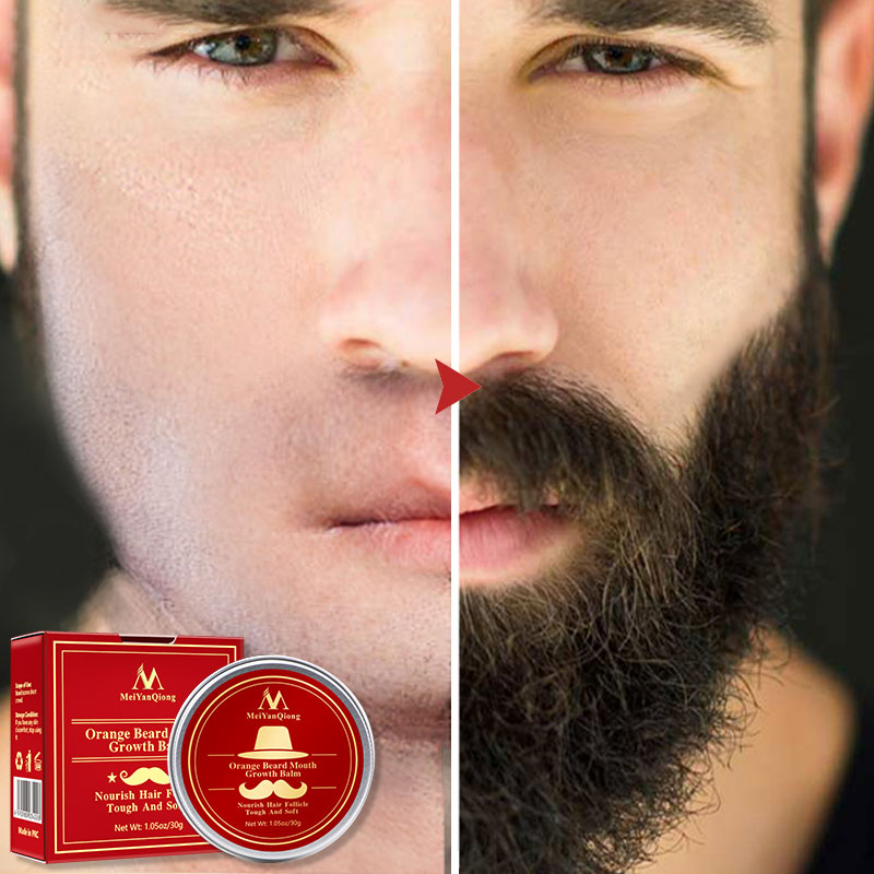 Beard Cream Organic Beard Oil Beard Wax Balm Hair Loss Products Leave-In Conditioner For Groomed Beard Growth Health Care 30g