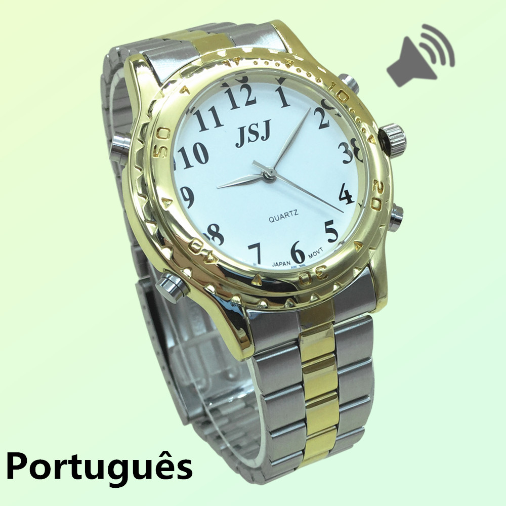 Good Looking Portuguese Talking Watch For The Blind And Elderly Or Visually Impaired People