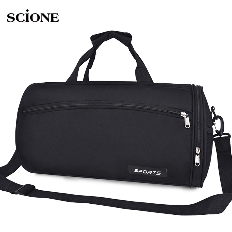 Women Men Gym Fitness Bag For Shoes Travel Training Bag Lightweight Shoulder Handbag Gymtas Sac De Sport Blaso Outdoor XA890WA