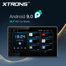 "XTRONS Universal 10,1 ""Unidad Principal Android 9,0 coche reproductor Multimedia Radio estéreo 1080P Video volante GPS RCA OBD NO DVD(China)"