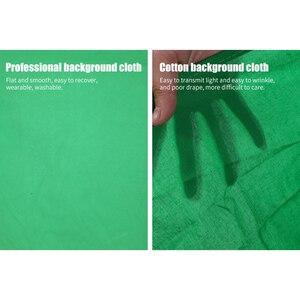 Image 3 - Fotografie Achtergrond Achtergronden Groen Scherm Chroma Key Voor Foto Studio Mousseline Achtergronden 5 Kleuren