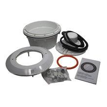 PAR56 лампа для бассейна, Ниша и корпус, ПВХ материал с уплотнительным кольцом для вкладышей и бетонный бассейн