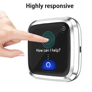 Image 3 - Beschermhoes Voor Fitbit Versa 2 Smart Watch Case Volledige Randen Protector Anti Shock Met Screen Film Shell Voor Versa 2