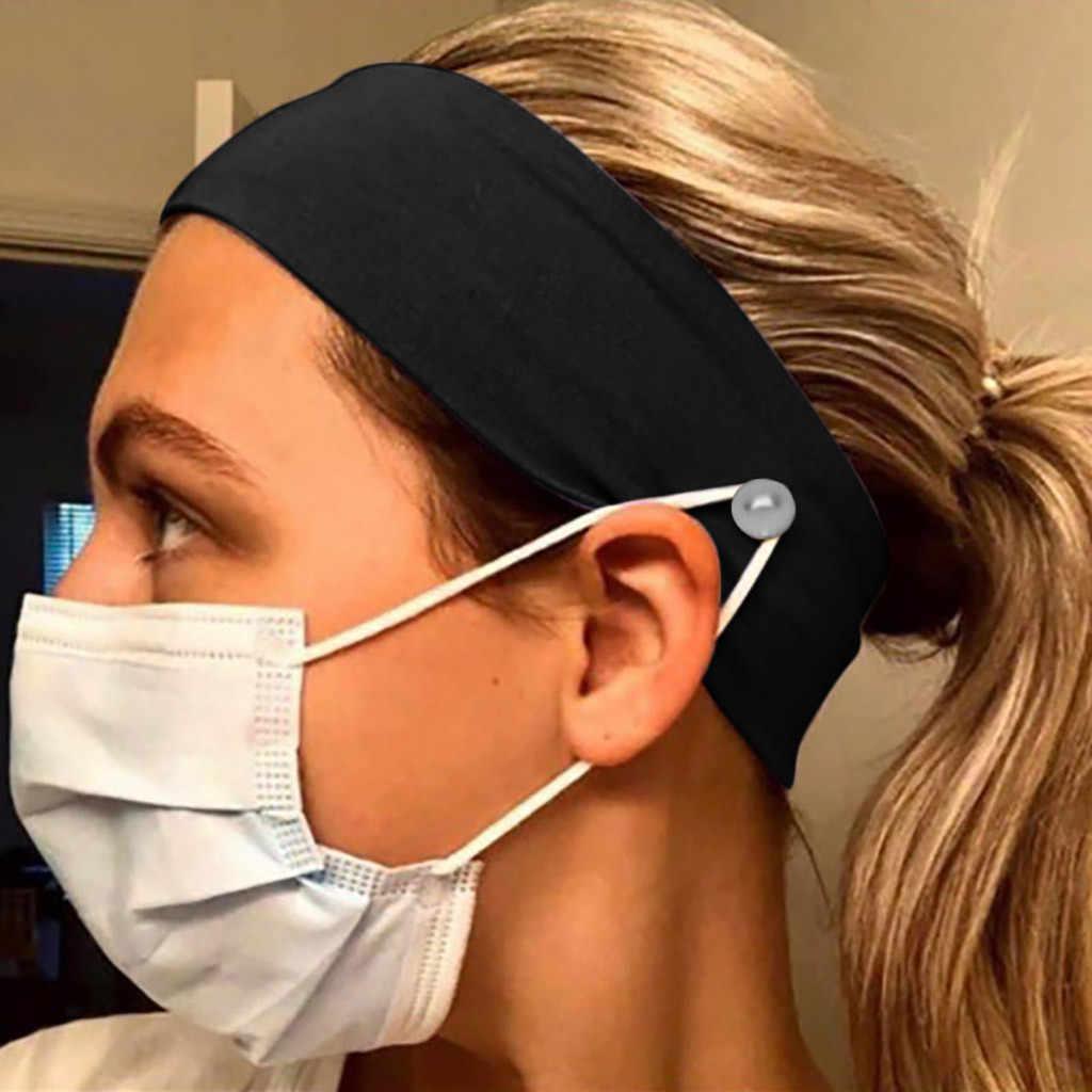 ป้องกันหูแถบคาดศีรษะเมื่อสวมใส่ Yashmak อุปกรณ์เสริมสำหรับผมผู้หญิงผ้าพันคอหญิงกีฬากลางแจ้ง Hairbands 2020