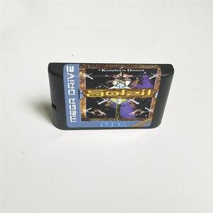 Image 2 - Soleil (français) couverture EUR avec boîte de détail carte de jeu MD 16 bits pour Console de jeu vidéo Sega Megadrive Genesis