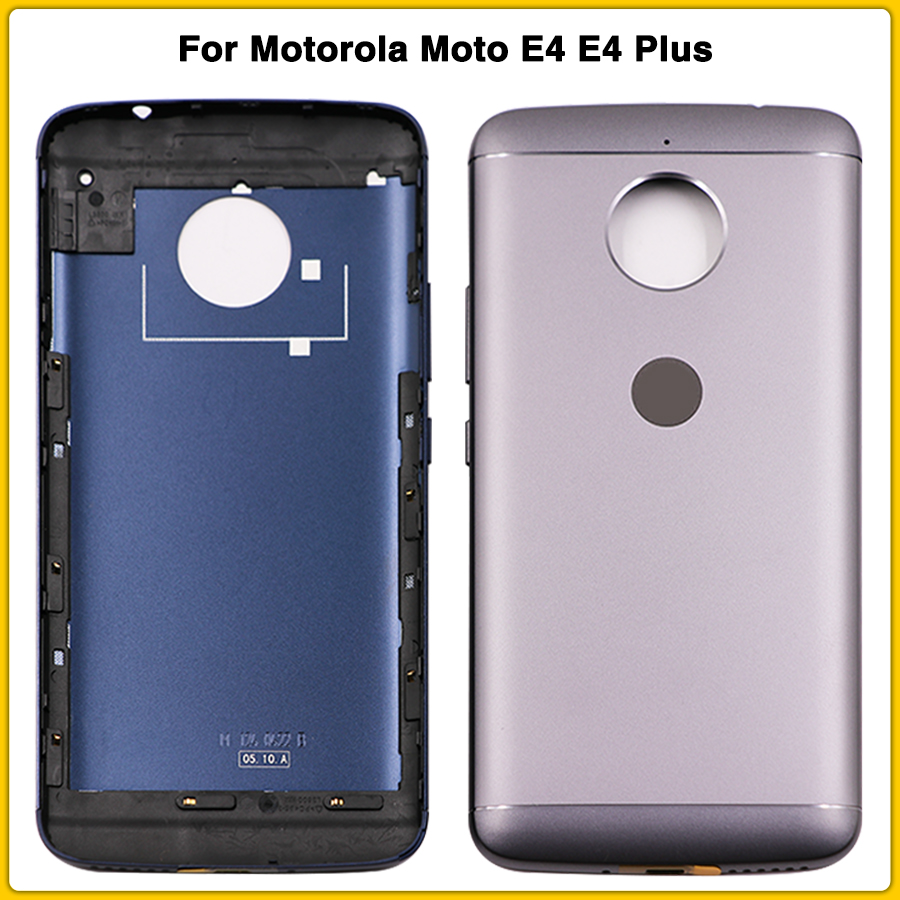 New Rear Housing Case For Motorola Moto E4 XT1762 XT1763 E4 Plus Xt1774 Xt177 Battery Back Cover Door Rear Cover