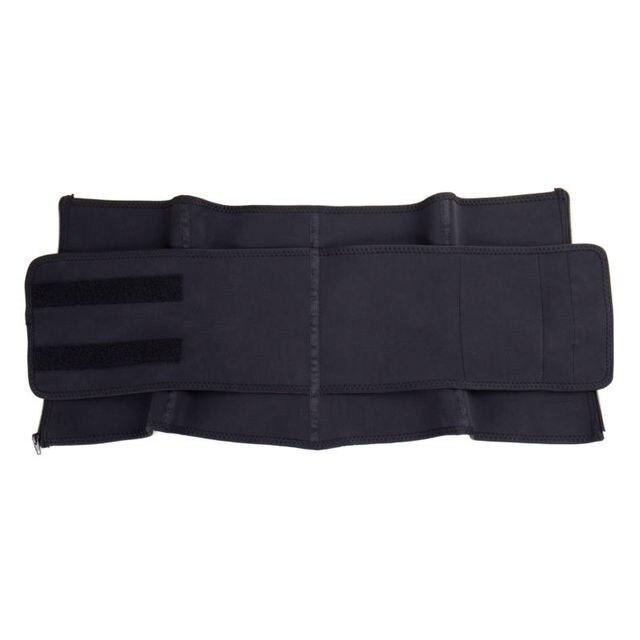 Men Women Tummy Waist Trainer Cincher Sweat Belt Trainer Hot Body Shaper Slim Shapewear Sweat Belt Waist Cincher Trainer 4