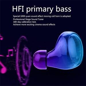 Image 5 - Loa Di Động Không Dây Bluetooth HD Stereo Bluetooth Không Dây IPX8 Tai Nghe Tai Nghe Nhét Tai Bluetooth 3500MAh Sạc Hộp