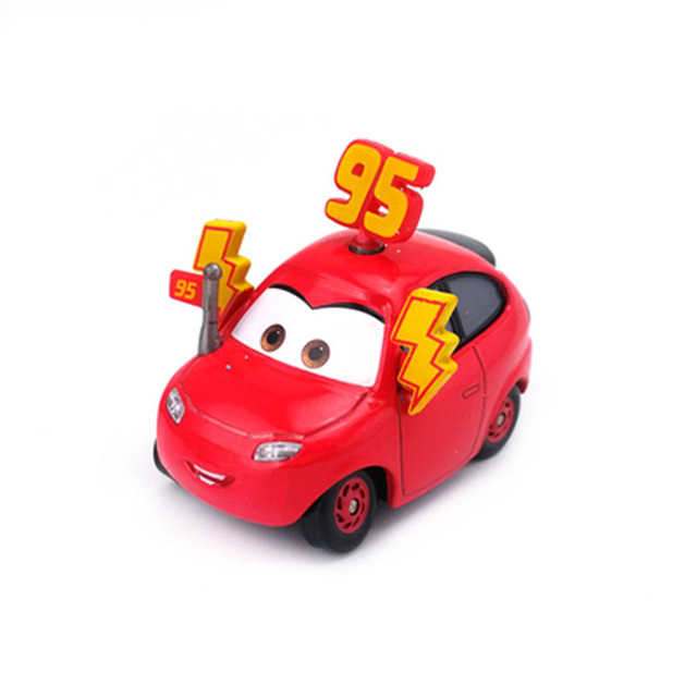 Disney Pixar Car 2 3 Lightning Mcqueen Vehicle Cars Model Metal 1:55 Hot Toys New Year Gift Present for Boys