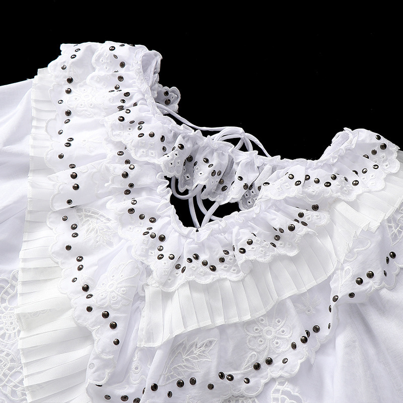TVVOVVIN Fashion Europe Dress Female Autumn And Summer New 2019 Women Dress Embroidery V neck Women Clothing C893 - 2