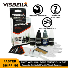 VISBELLA Welding Super Glue 7 Speedy Fix Powder Plastic Repair Wood Adhesive Sealant Professional Quick Bonding Copper Rubber
