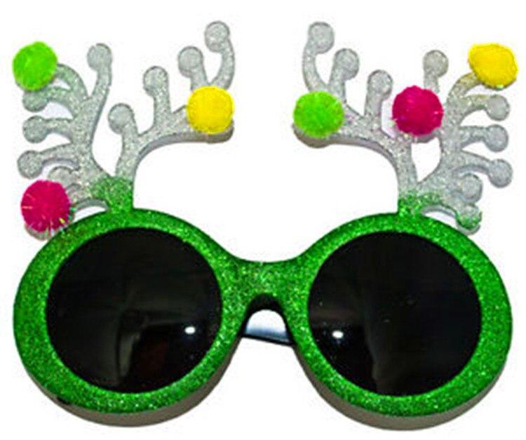 Декорированные очки вечерние рождественские очки на день рождения праздничные принадлежности