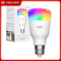 Yeelight E27 LED luz inteligente bombillas 1S 8,5 W 800lm Wi-Fi RGB bombilla inteligente trabajar con Apple Homekit Asistente de Google Alexa